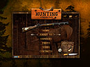 Hunting club - VideoAdmin flash templates, Video web sharing  flash site design