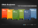 iWeb Business - VideoAdmin flash templates, Video Admin Flash website templates